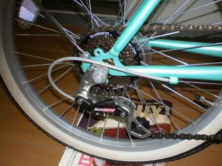自転車の ギア比 自転車 : ということで、ギア比はトップ ...